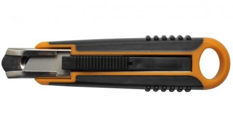 Odlamovací nôž s automatickým zasúvaním FISKARS 18 mm