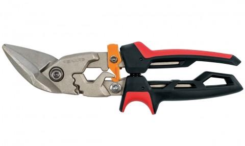 Prevodové nožnice na plech FISKARS PowerGear, offsetové ľavé
