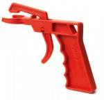 Pištoľová rukoväť pre rôzne druhy sprejov
